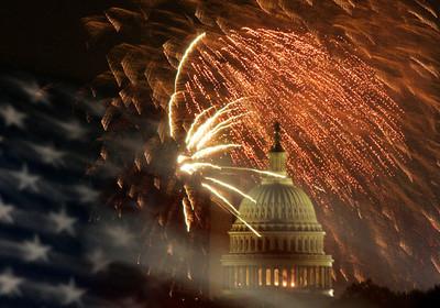 APTOPIX 4th of July Washington