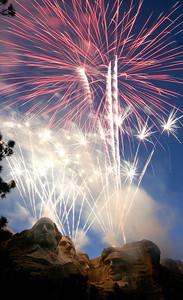 Mt. Rushmore Fireworks