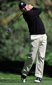 Fred Couples hits from the 12th tee during the first round of the Northern Trust Open at Riviera Country Club in Pacific Palisades , CA. 2-17-2011. (John McCoy/staff photographer)