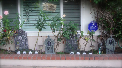 More spookiness from the Lee family in the 17100 block of Sunderland Drive in Granada Hills.