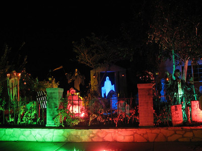 The Rella family in Simi Valley runs Mourning Rose Manor from dusk to 11 p.m. every night through Halloween on the 5200 block of Aurelia Street. Find out more at www.mourningrosemanor.com.
