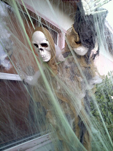 The dead are rising at Eerie Acres on Keswick Street in Canoga Park.