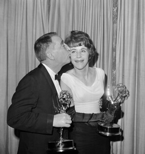 Emmys Carol Burnett Garry Moore 1962