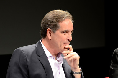 Jim Nantz during a discussion about the 2012 Olympics at USC Thursday, February 16, 2012. (Hans Gutknecht/Staff Photographer)