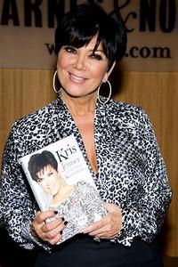 Kris Jenner Book Signing