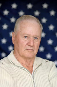 Barry Jones, Korean War Veteran, served in the Fox 2-7 1st Marine Division.  He worked a light machine gun.  (Dean Musgrove/Staff Photographer)