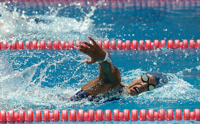LA City Section CIF, All City Swimming Championships were held at the AAF/John C. Argue Swim Stadium in Los Angeles, CA 5-17-2011. (John McCoy/staff photographer)
