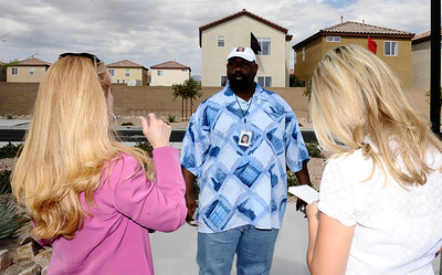 The farther of missing Matrice Richardson Michael Richardson talks to the media outside the LV PD station during a press conference  to discuss the local aspect of an ongoing investigation into the disappearance of a California woman. The missing woman, Matrice Richardson, was last seen in Malibu California on September 17 , 2009 following her release th from custody by L.A.P.D.. She had been arrested a few hours earlier on a minor misdemeanor charge. Since then there have been several possible sightings of Richardson in Southern Nevada. Las Vegas NV. July 29,2010 Photo by Gene Blevins/LA Daily News
