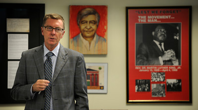 LAUSD Superintendent John Deasy is coming up on his one year anniversary as the top dog in the schools.  Los Angeles, CA 3/16/2012(John McCoy/Staff Photographer)