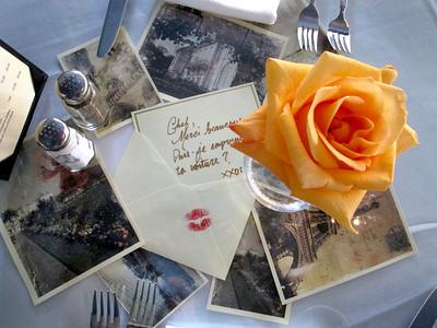La Frite Cafe on Ventura Blvd. in Sherman Oaks Ca. Table inside restaurant.   (Dean Musgrove/Staff Photographer)
