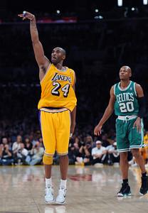 Lakers vs Celtics