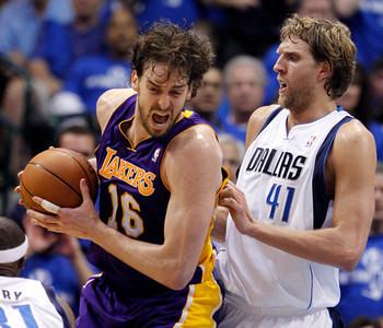 Lakers Mavericks Basketball