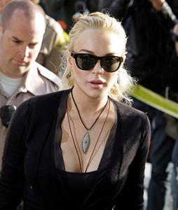 APTOPIX People Lindsay Lohan