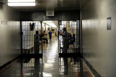 Los Angeles County Sheriff's Department Men's Central Jail Wednesday, December 7, 2011. (Hans Gutknecht/Staff Photographer)