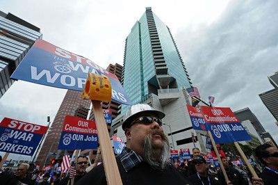 Support march and rally for unions