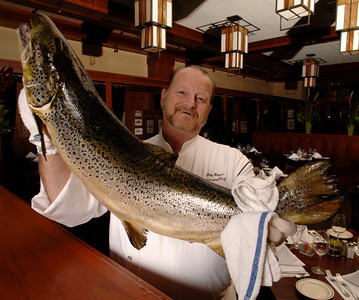 Ray Hayes is the executive chef at McCormick & Schmick's in Burbank, California. Photographed on 9/27/07. photo by John McCoy/LA Daily News