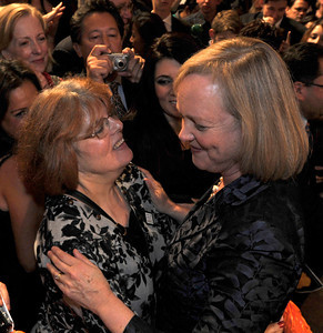 Meg Whitman conceded her run for the office of Governor at approximatly 11:40 PM during a campaign party at the Universal Hilton hotel in Universal City, CA.11-2-2010. (John McCoy/staff photographer)