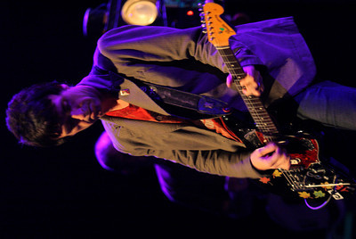 Former Smiths Guitarist Johnny Mar, performs as the newest member of Modest Mouse at the Gibson Amphitheater on May 13, 2007 in Universal City, California. The Concert was scheduled to take place at the Greek Theater in Hollywood but was moved due to the Griffith Park brush fire. (Matthew Simmons/Special to the DN)