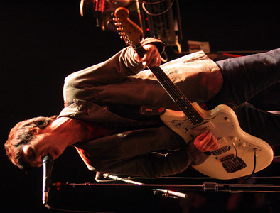 Former Smiths Guitarist Johnny Mar, performs as the newest member of Modest Mouse at the Gibson Amphitheatre on May 13, 2007 in Universal City, California. The Concert was scheduled to take place at the Greek Theater in Hollywood but was moved due to the Griffith Park brush fire. (Matthew Simmons/Special to the DN)