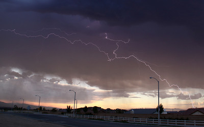 Palmdale Lightning