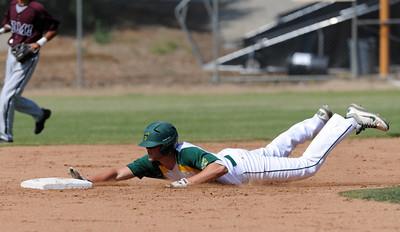 Moorpark vs Simi baseball at Moorpark High School Friday, May 6, 2011. (Hans Gutknecht/Staff Photographer)