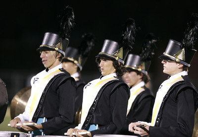 Newbury Park Marching Band performs on a cool and windy night  before the game against Westlake  on Friday, Oct. 05, 2007 . (Edna T. Simpson)