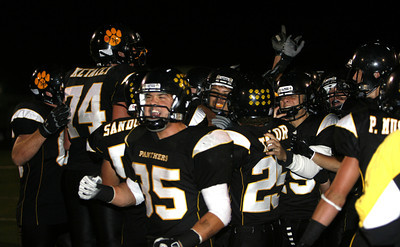 Newbury Park's players celebrates after winning on Friday, Oct. 5, 2007 against Westlake 27-13 (Edna T. Simpson)
