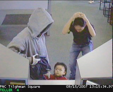 Bank Robbery Toddler