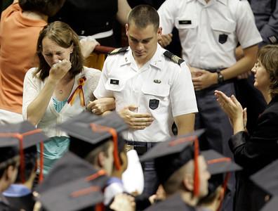 APTOPIX Virginia Tech Graduation