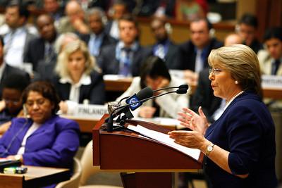 SWITZERLAND UN HUMAN RIGHTS CHILE BACHELET