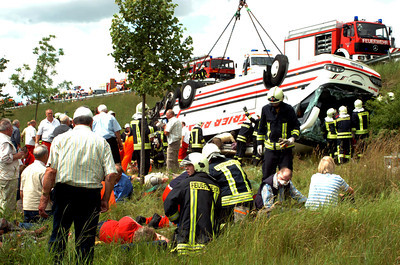 GERMANY BUS ACCIDENT