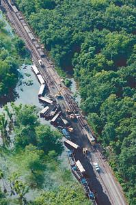 Trains Collide