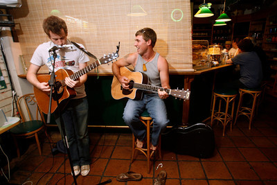 open mic night at the Coffee Junction