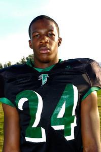 Palmdale High School Football player Ronald Scott.