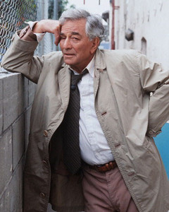"""Peter Falk, best known as the trench-coat-donning detective in """"Columbo,"""" has died at 83."""