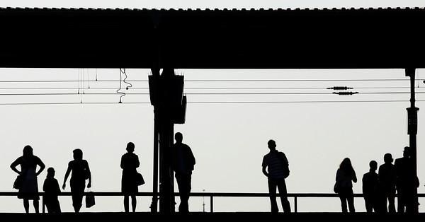 APTOPIX GERMANY RAIL STRIKES
