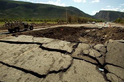 APTOPIX Mexico Truck Explosion