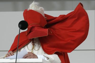 APTOPIX AUSTRIA POPE