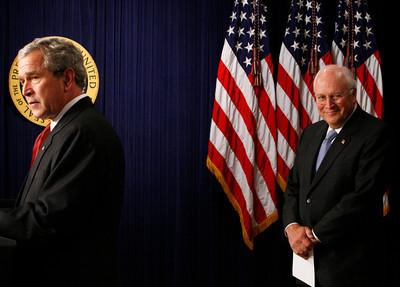 APTOPIX Bush Cheney