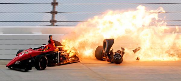 APTOPIX Indy Pro Series Nashville Auto Racing