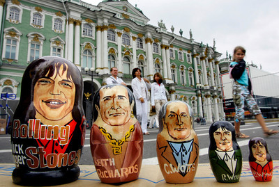 RUSSIA THE ROLLING STONES
