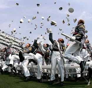 APTOPIX West Point Graduation