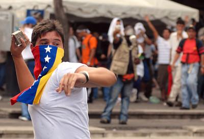 APTOPIX Venezuela Chavez vs TV