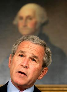 APTOPIX Bush US Darfur