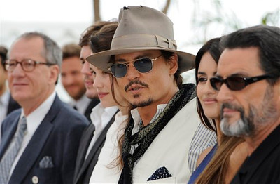 France Cannes Pirates of the Caribbean Photo Call