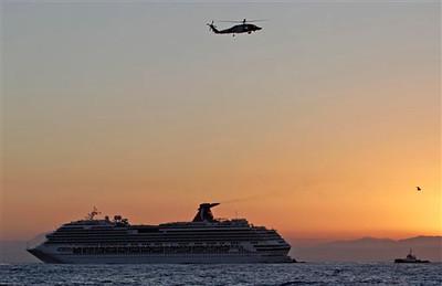 Cruise Ship Fire