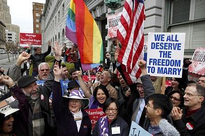 USA-GAY MARRIAGE/CALIFORNIA
