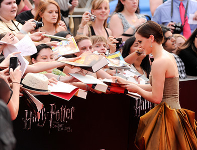 Premiere Harry Potter and the Deathly Hallows Part 2