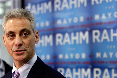 CORRECTION Chicago Mayor Rahm Emanuel