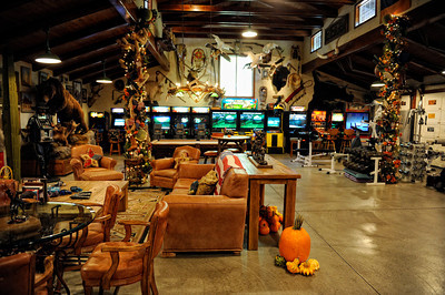 Game room at Rancho Deluxe Movie Ranch in Santa Clarita (Hans Gutknecht/Staff Photographer)